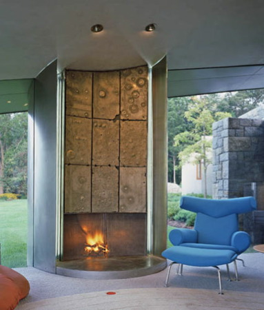 Set Plastering fire place