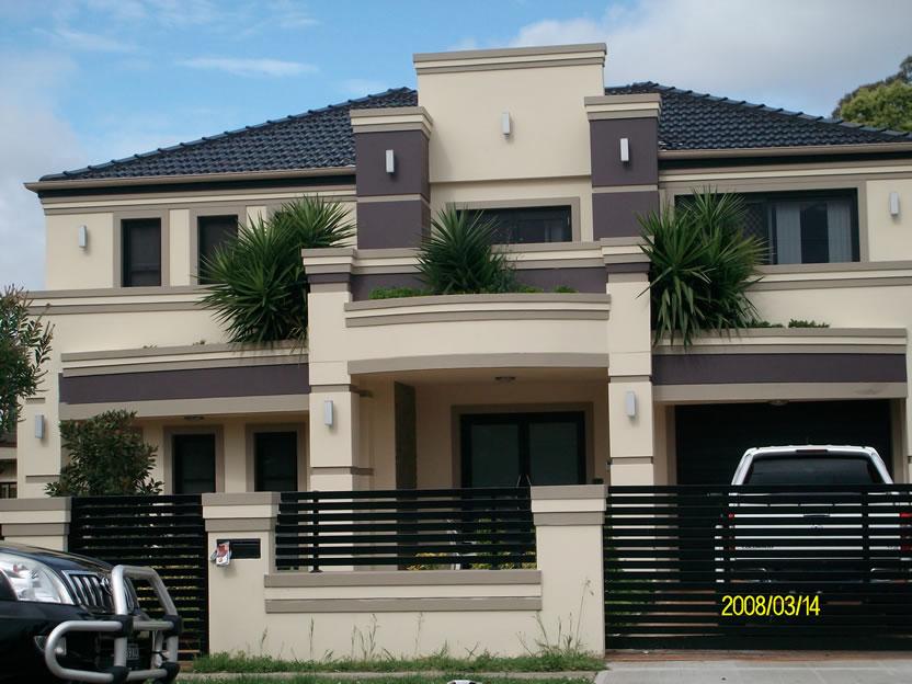 Acrylic Rendering House1