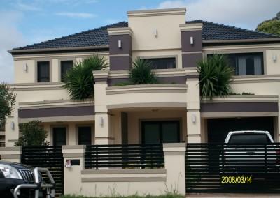 Acrylic Rendering House